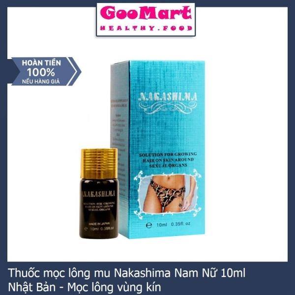 Thuốc mọc lông mu Nakashima Nam Nữ 10ml Nhật Bản - Mọc lông vùng kín giá rẻ