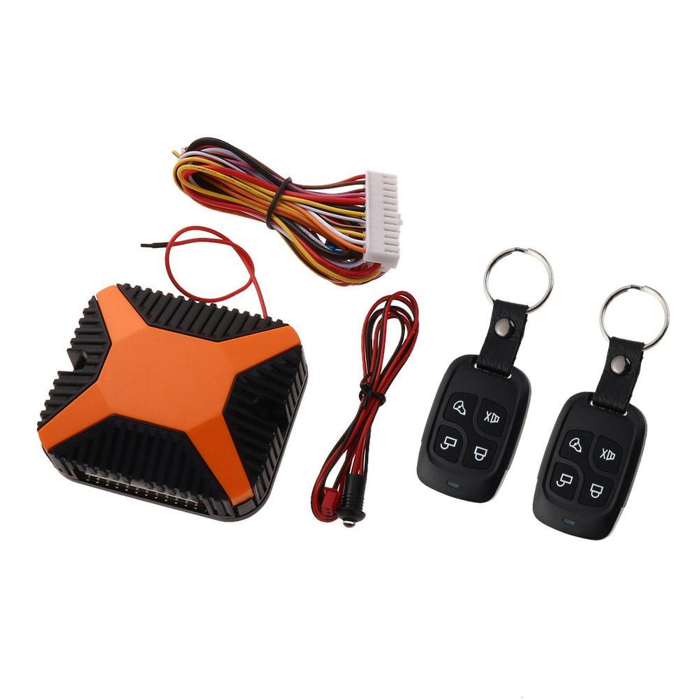 Universal Car Alarm Auto Remote Central Kit Door Lock Keyless Entry System