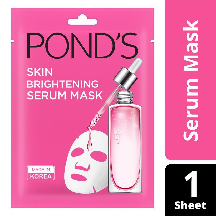 Mặt Nạ Tinh Chất Dưỡng Sáng Da Ponds Wrinkle Correcting Serum Mask (21ml)