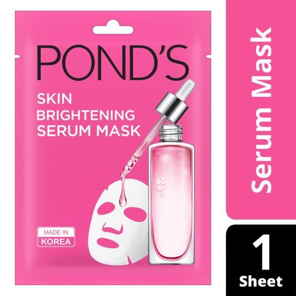 Mặt Nạ Tinh Chất Dưỡng Sáng Da Ponds Wrinkle Correcting Serum Mask (21ml) tốt nhất