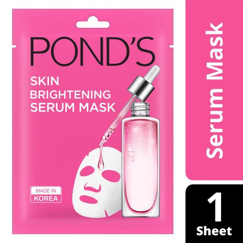 Mặt Nạ Tinh Chất Dưỡng Sáng Da Ponds Wrinkle Correcting Serum Mask (21ml) nhập khẩu