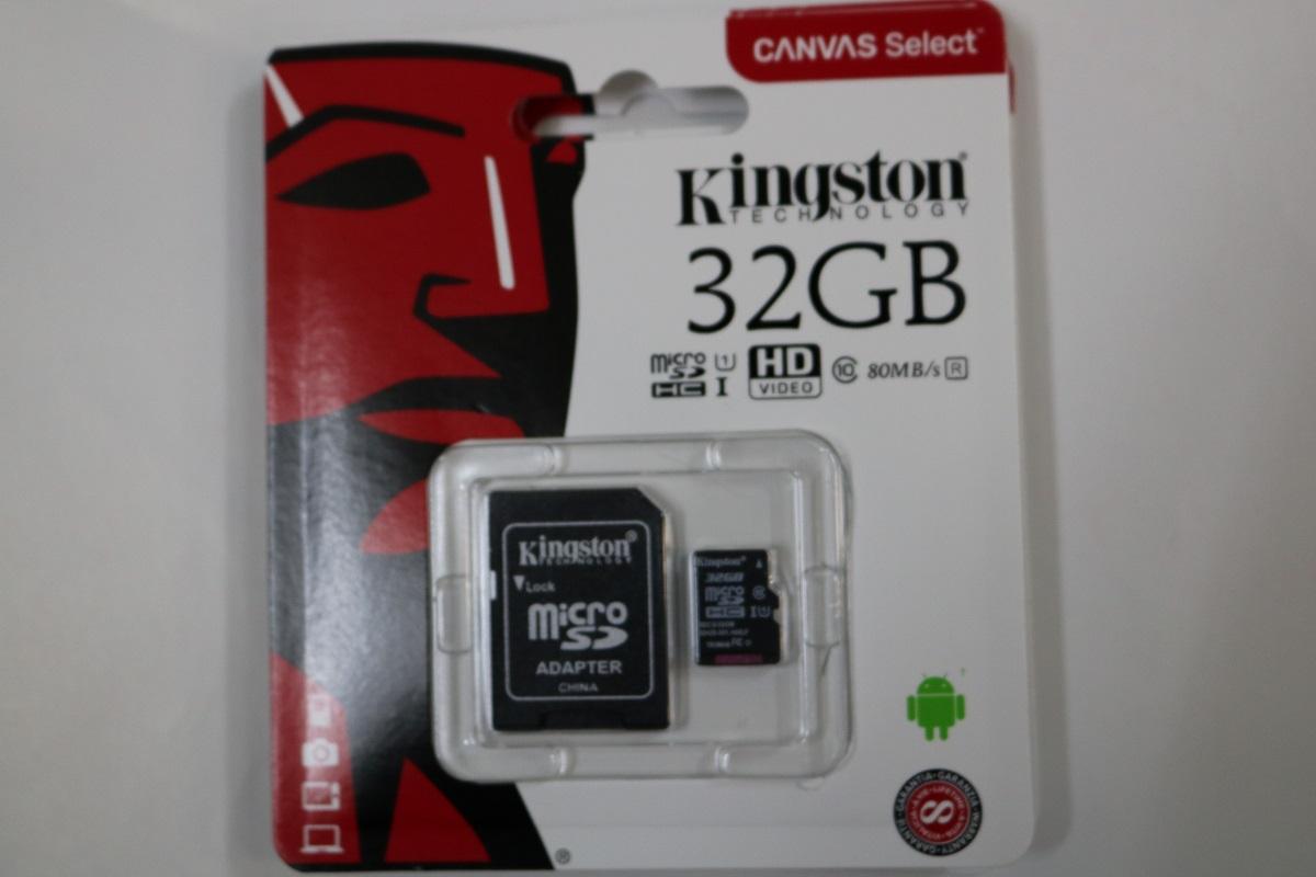 Thẻ Nhớ MicroSDHC Kingston Canvas Select 32GB Class 10 U1 (SDCS/32GB) Tem SPC Đang Giảm Giá