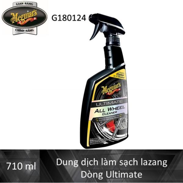 Meguiars Sản phẩm làm sạch lazang xe dòng Ultimate - Ultimate All Wheel Cleaner  G180124 - 710 ml