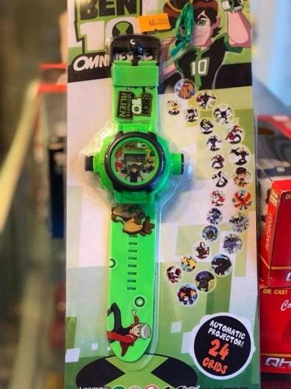 Nơi bán Đồng hồ ben ten chiếu hình, đồng hồ chiếu 24 hình, ĐỒ CHƠI ĐỒNG HỒ CHIẾU HÌNH, Dong ho chieu hinh