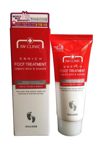 KEM DƯỠNG DA CHÂN 3W CLINIC ENRICH FOOT TREATMENT