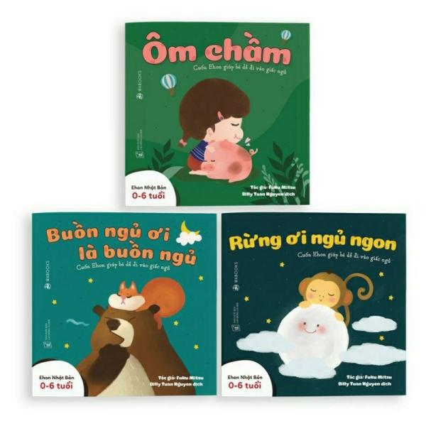 Mua Sách Ehon - Combo 3 cuốn Buồn ngủ ơi là buồn ngủ - Dành cho trẻ từ 0 - 4 tuổi.