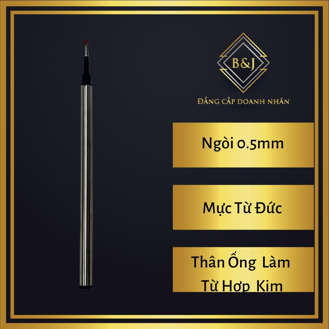 Mua B&J - Ruột ( ống ) mực dạ bi cao cấp B& 0.5mm thân hợp kim dùng cho bút, viết dạ bi (lông bi) phù hợp cho doanh nhân, nhân viên văn phòng