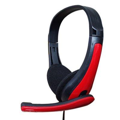Tai nghe game thủ chụp tai mini có mic thoại kiểu dáng sành điệu có 1 jack dùng tốt cho cả điện thoại máy tính và laptop