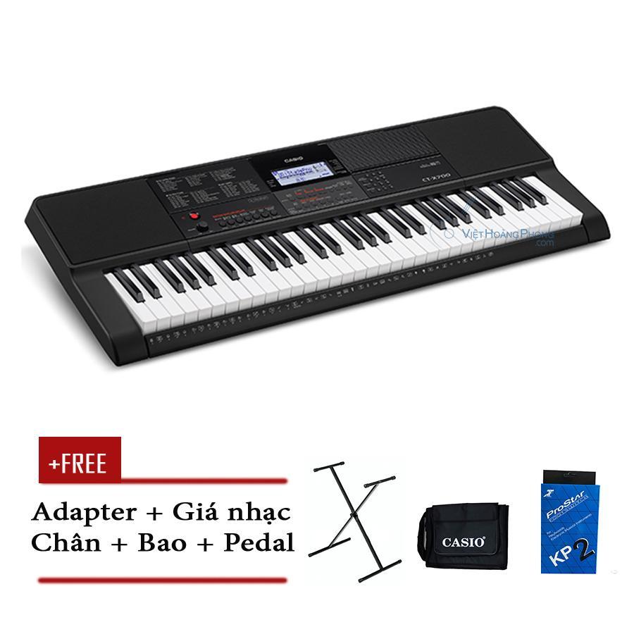 Mã Khuyến Mại Đàn Organ Casio CT-X700 Kèm AD + Chân X + Bao đàn + Pedal ( CTX700) - HappyLive Shop
