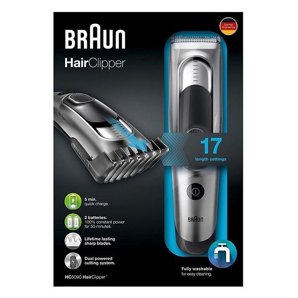 Tông đơ cắt tóc cao cấp Braun HC5090 cao cấp