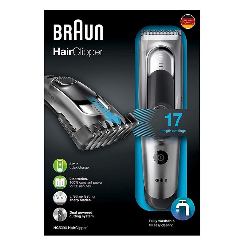 Tông đơ cắt tóc cao cấp Braun HC5090 nhập khẩu
