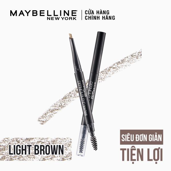 Chì Kẻ Mày 2 Đầu Sắc Nét Tự Nhiên Maybelline New York Define & Blend Brow Pencil 0.16g giá rẻ