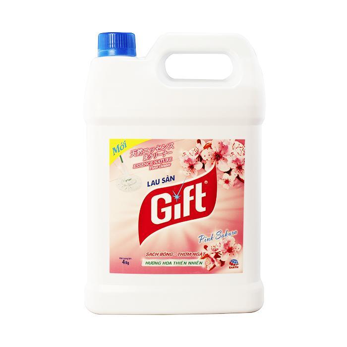 Nước lau sàn Gift Pink Sakura 4L