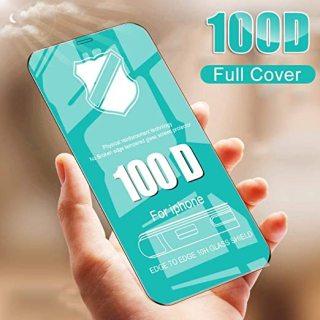 Cường lực iphone Dẻo 100D Full màn - Cường lực Dẻo Chống Mẻ Vỡ Viền Full Mã Ip6-Ip12Promax thumbnail