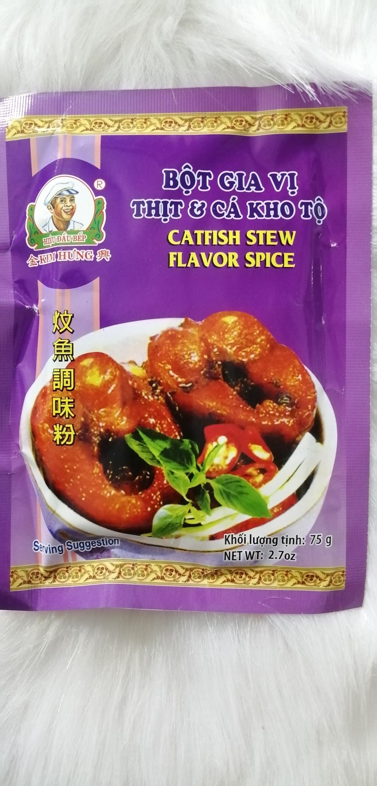 [GIA VỊ TINH TÚY] Gia Vị Thịt Cá Kho Tộ 75gr hiệu Kim Hưng
