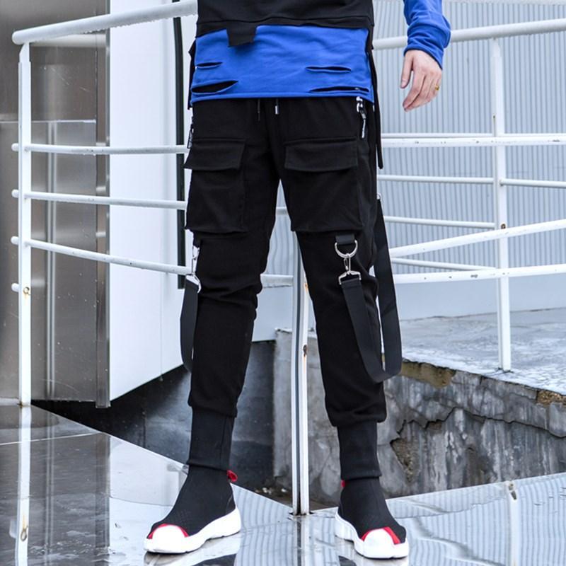 Quần jogger nam túi hộp phối dây cá tính chất siêu co giãn Thời Trang 4MENHCMHCM JOGGER NAM 9000018C