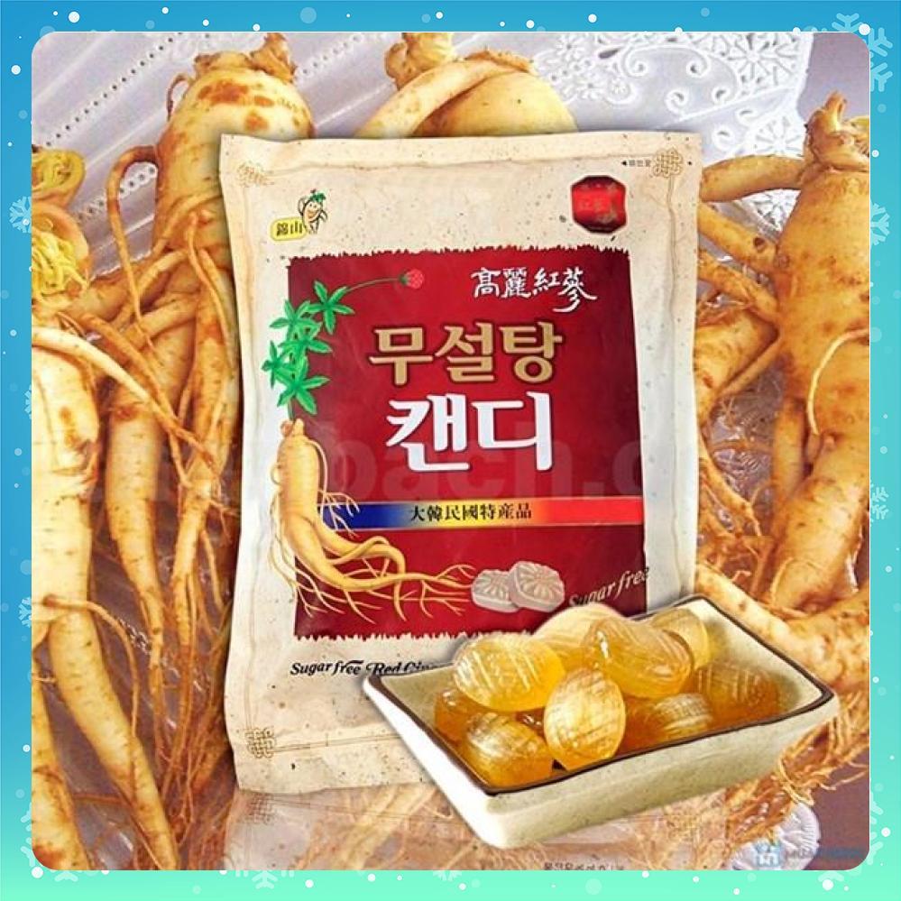 [HCM]Kẹo sâm không đường Hàn Quốc 500g Nhân sâm Hàn Quốc Maximas