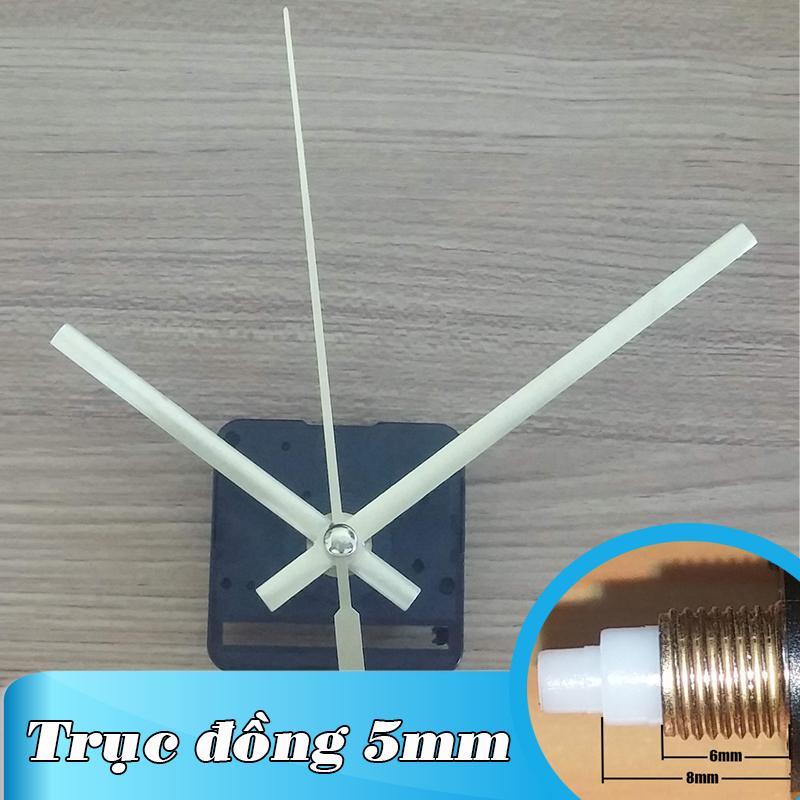 Nơi bán Kim giật - Bộ kim vàng 11.5cm và Máy đồng hồ treo tường Đài Loan loại tốt - Trục 5mm