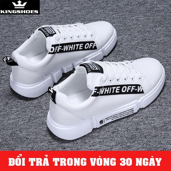 Giá Tiết Kiệm Để Sở Hữu Ngay Giày Sneaker Nam Hàn Quốc 2019 (Giá Siêu Sốc) - KINGSHOES (KS06)
