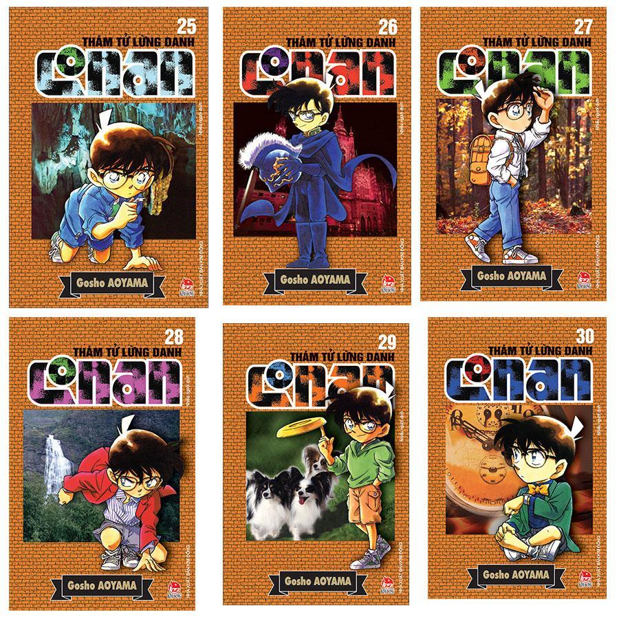 Deal Giảm Giá Combo Thám Tử Lừng Danh Conan (Tập 25-30)