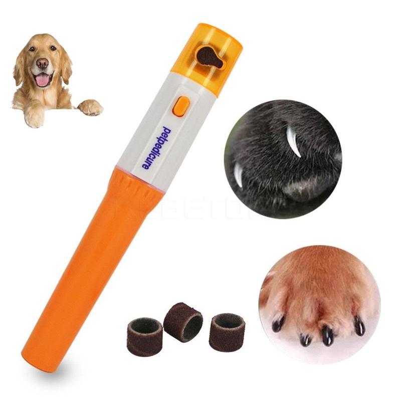 HCM CP520 mini -Máy mài móng thú cưng- máy giũa móng chó mèo mini-máy chạy pin