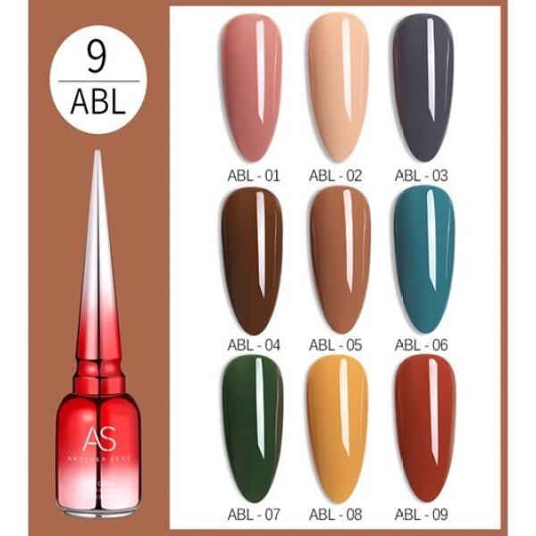 [HCM]Sơn gel AS 15ML (dành cho tiệm nail chuyên nghiệp) - ABL nhập khẩu