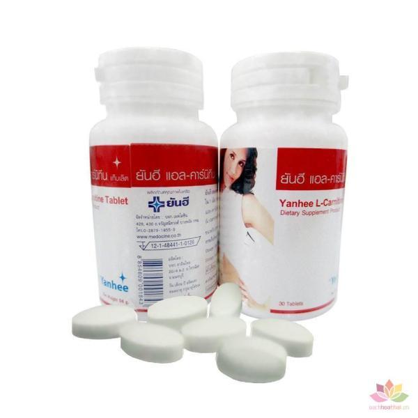 Viên uống giảm cân thảo dược Yanhee L-Carnitine