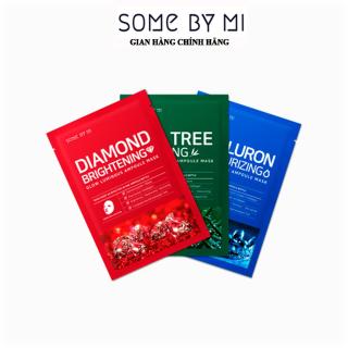 Mặt nạ dưỡng da Some By Mi Glow Luminous Ampoule Mask - Tea Tree Hyaluron Diamond - Mỹ phẩm Mall thumbnail