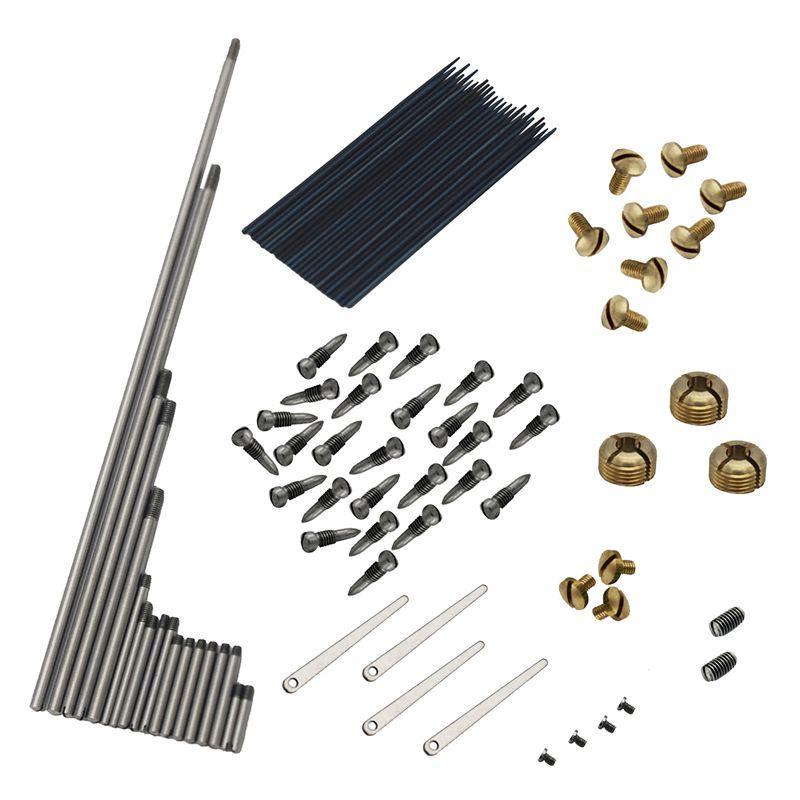 92pcs/set Alto Sax Saxophone Repair Parts Screws + Saxophone Springs Kit DIY Tool Woodwind Instrument Accessories Malaysia