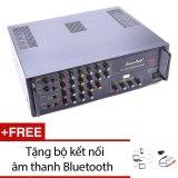 Bán Ampli Karaoke Smart Audio 1100Ii Đen Tặng 1 Bộ Kết Nối Am Thanh Bluetooth Smart Audio Nguyên