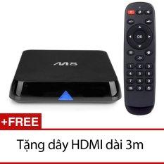 Mã Khuyến Mại Android Smart Tivi Box Enybox M8S Đen Tặng Day Hdmi Dai 3M M8S