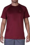 Áo Thẻ Thao Nam Thời Trang Plain Sport Tee Maroon A095 Đỏ Đo Rẻ