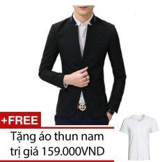 Ao Vest Nam Titishopvn Akn265 Đen Tặng 1 Ao Thun Nam Mới Nhất