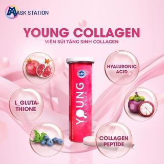 Viên sủi tăng sinh collagen Young Collagen (4g 10 viên) thumbnail