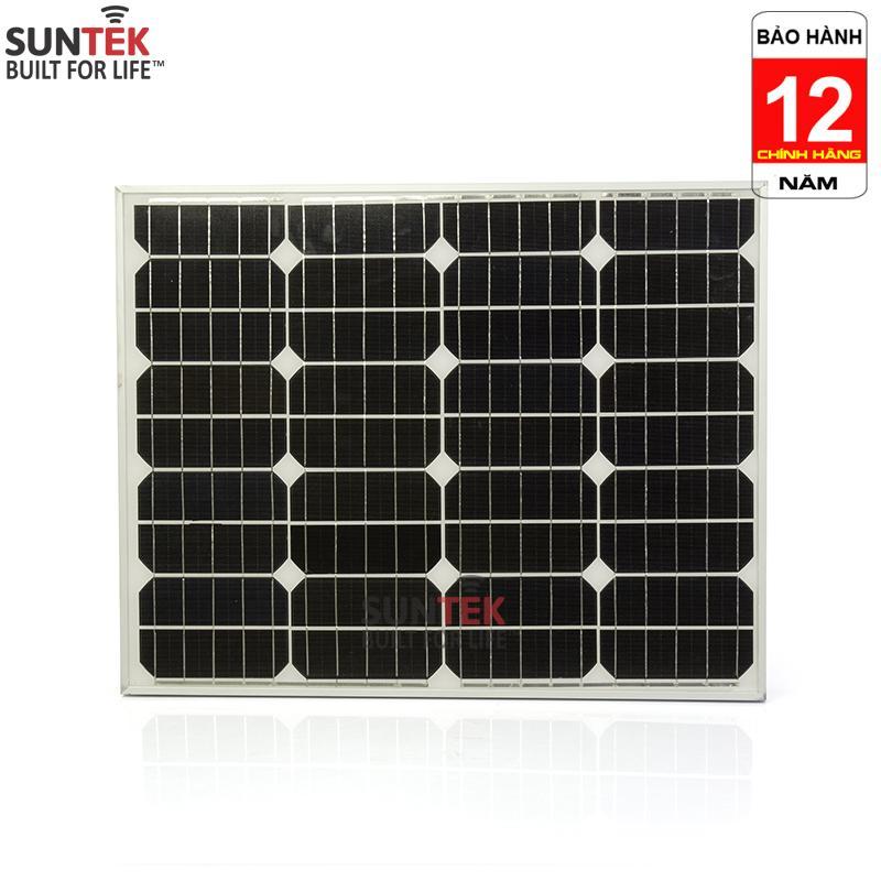 Tấm PIN năng lượng mặt trời SUNTEK Mono SS50 18V/50W