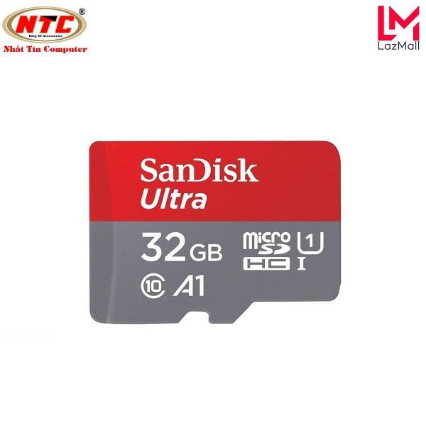 Thẻ nhớ MicroSDHC SanDisk Ultra A1 32GB Class 10 U1 98MB/s - box Hoa (Đỏ)