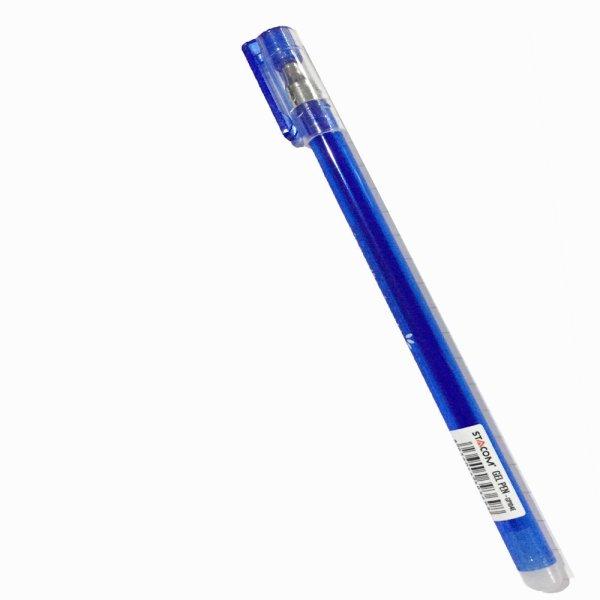 Bút gel xóa được Stacom đầu bi 0.5mm 3 màu xanh/đen/tím GP104E