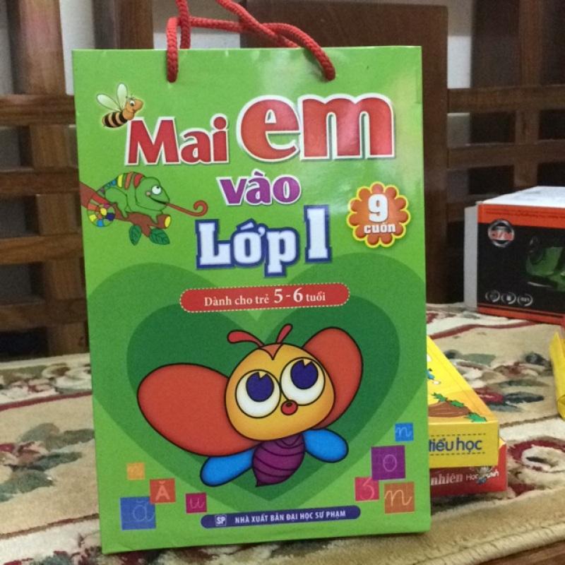 Sách - Mai Em Vào Lớp 1 Dành Cho Trẻ 5-6 Tuổi ( Bộ Sách Gồm 9 Cuốn)