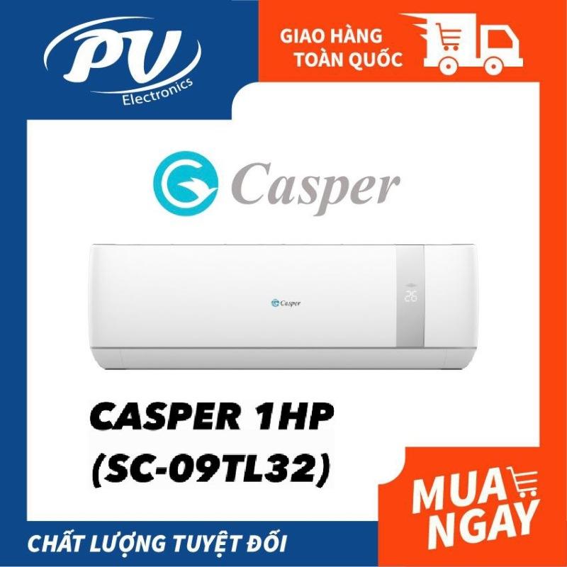 Máy lạnh Casper 1 HP SC-09TL32 - Công suất làm lạnh 9000 BTU Làm lạnh nhanh-Bảo hành chính hãng 3 năm