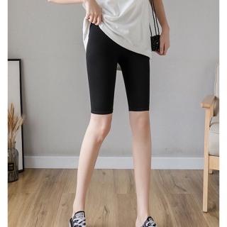 Quần thun legging thể thao CERA-Y lửng ngố ôm body màu đen CRQ013, chất vải thun 2 chiều co dãn, vải nhẹ mặc mát, dễ phối trang phục khác thumbnail