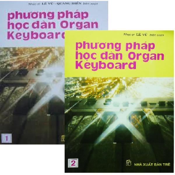 Mua Phương Pháp Học Đàn Organ Keyboard (Tập 1, 2) - Lê Vũ