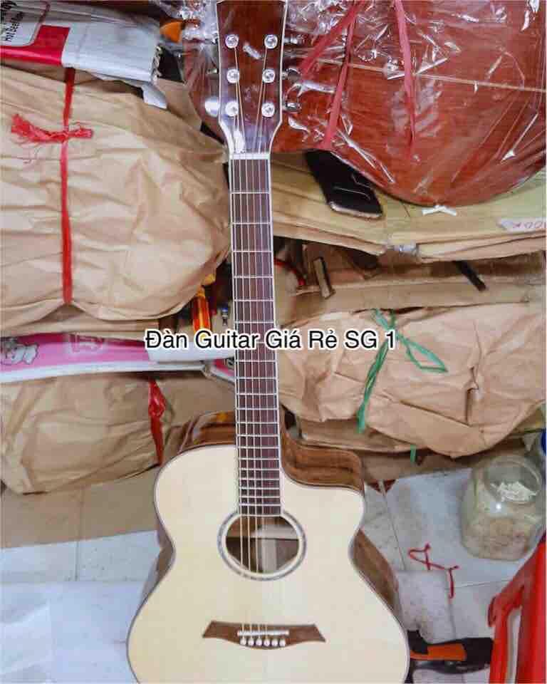 Đàn acoustic gỗ Điệp