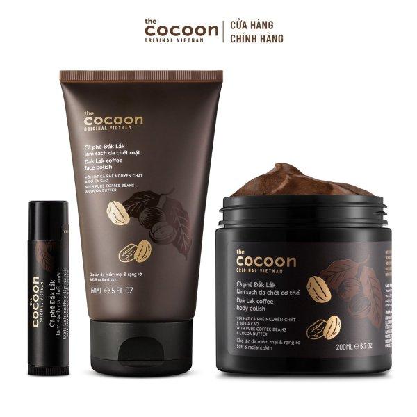 Combo cà phê Đăk Lăk Cocoon nhập khẩu