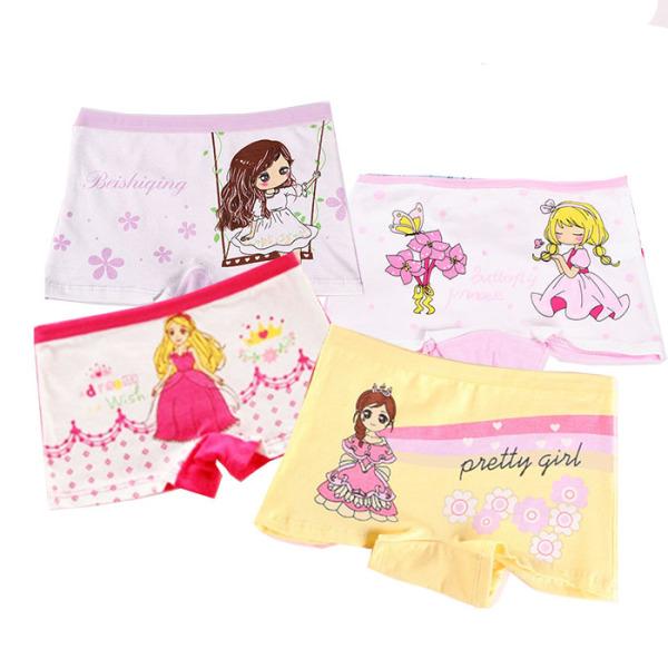 Giá bán Quần chip, quần lót dạng đùi cho bé gái. Hình ảnh các công chúa đáng yêu.