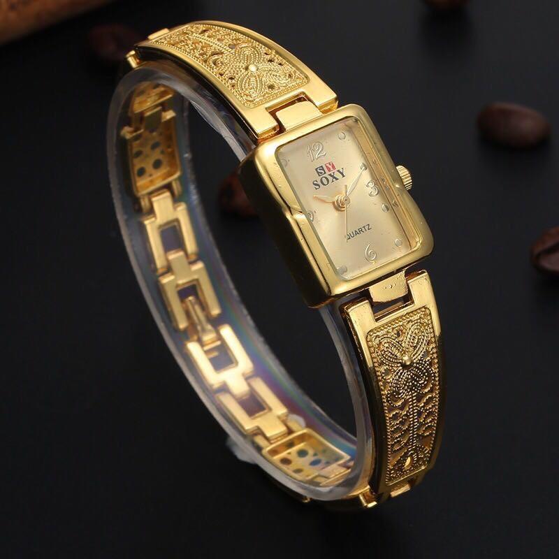 Đồng hồ nữ lắc tay JW mặt tròn số đính đá tinh tế mẫu Cực XINH SY01 (full box) bán chạy