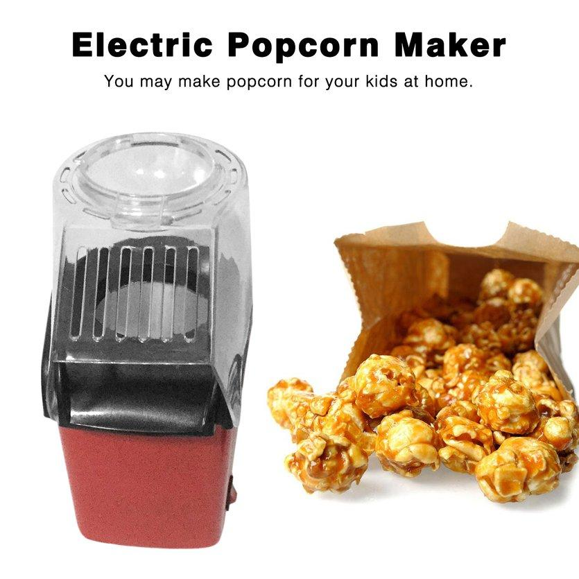 Wake Electric Popcorn Maker Household Automatic Popcorn Machine Air Blowing Popper By Super Stear Store