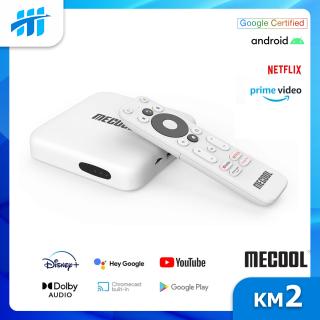 Android TV Box Mecool KM2 - Netflix 4K, AndroidTV 10 CE thumbnail