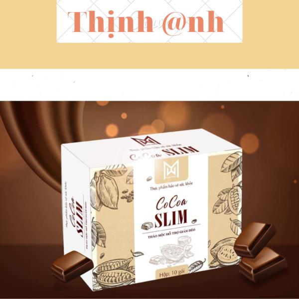 Giảm Cân Cocoa Slim Giảm An Toàn Không Kiêng Ăn cao cấp