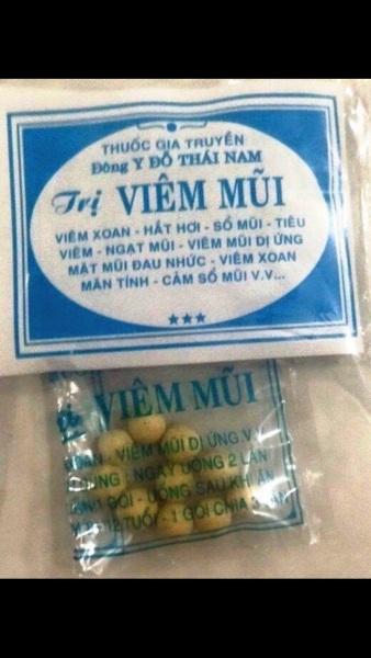 50 gói viêm mũi viên Đỗ Thái Nam cao cấp