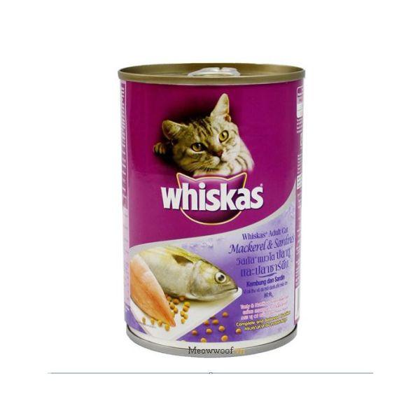 Pate Whiskas lon 400g cho mèo